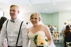 Wedding // Cream // Perth, Australia // Kimberley Ann Photography // Just Married // Bride and Groom // Happy