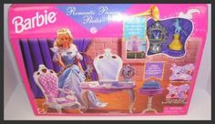 NEW 1998 Romantic Princess Barbie Doll Parlor Princess Playset