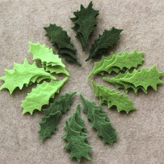 Green Day  Small Holly Leaves Value Pack  108 Die by bbdsupplies, $8.10
