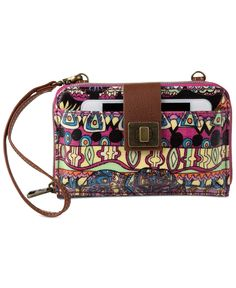 sakroots Artist Circle Smartphone Crossbody - Crossbody & Messenger Bags - Handbags & Accessories - Macy's