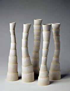 Bruce Nuske - Tall Tales Vasos de cerâmica