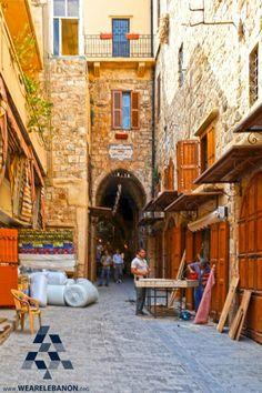 Old Souq in #Saidon By THIERRY TAVARES #WeAreLebanon #Lebanon