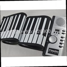41.80$  Watch now - http://ali4vd.worldwells.pw/go.php?t=32254597408 - Portable 61 Keys Flexible Roll Up Electronic Piano Soft Keyboard Midi Digital Organ Synthesizer