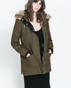 Image 2 of DOUBLE LAYER PARKA from Zara