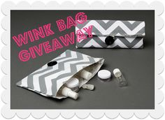 www.thedomesticgeekblog.com WINK bag {Giveaway} by Domestic Geek
