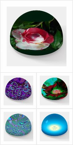 Colorful Glass Paperweights Office Presents Office Presents, My Flower, Flowers, Marble Effect, Glass Paperweights, Colored Glass, Are You The One, Christmas Gifts, Collections