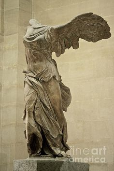 Winged Victory Of Samothrace Hellenistic Greek C 190 B