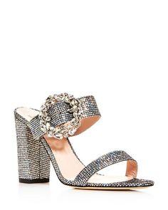 5aa4c186fad0 SJP By Sarah Jessica Parker Celia High Block-Heel Slide Sandals  410 Pick  Up or