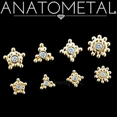 We can't get enough of our new Threaded Sabrina Ends. Available in solid 18k yellow, rose, or white gold with 1.5mm or 2mm gemstones!