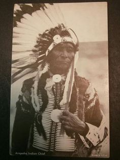 Arapaho Indian chief