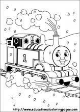 Thomas Friends Coloring Pages Free For Kids