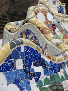 Great Buildings And Structures, Modern Buildings, Modern Architecture, Begur Costa Brava, Spain Destinations, Barcelona Catalonia, Mosaic Madness, Alicante Spain, Antoni Gaudi