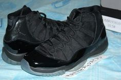 c4fb433372d1 Air Jordan 11  Blackout  Sample but is what its going to take.