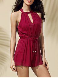 SHARE & Get it FREE | Stylish Solid Color Keyhole Neckline Romper For WomenFor Fashion Lovers only:80,000+ Items • New Arrivals Daily • Affordable Casual to Chic for Every Occasion Join Sammydress: Get YOUR $50 NOW!