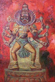 Pishachas (Devanāgarī पिशाच, IASTPiśāca) são demônios carnivoros, de acordo com a mitologia hindu. Sua origem é obscura,embora muitos acreditem que eles foram criados por Brahma. Outra lenda descreve-os como os filhos de ambos Krodha (a sânscrito raiva significado da palavra) ou de Pisaca filha de Dakṣa