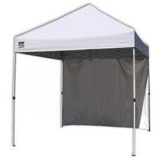Quik Shade Commercial 10 Instant Canopy with Wall Panel White Description Get out of the sun without missing the fun! The Quik Shade Commercial 10 Canopy Frame, Window Canopy, Canopy Bedroom, Canvas Canopy, Canopy Cover, Backyard Canopy, Canopy Outdoor, Canopy Tent, Modern