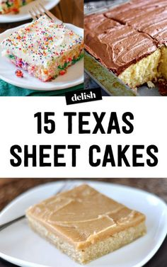 25 Texas Sheet Cakes That Will Kill at Your Next Party - Dessert Recipes 13 Desserts, Desserts For A Crowd, Dessert Recipes, Frosting Recipes, Tailgate Desserts, Picnic Desserts, Bar Recipes, Health Desserts, Dessert Bars