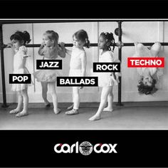 Techno music is different