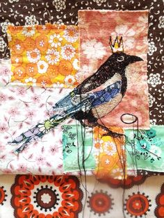King Magpie Clutch Bag.