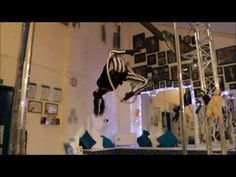 """Interesting transitions out of """"wineglass"""" Int/ Adv Aerial Hoop Combo - YouTube"""