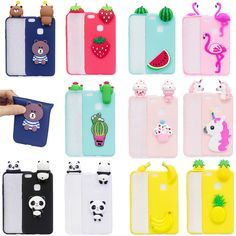 $2.69 - Soft Silicone Gel Cute Cartoon 3D Case Cover For Huawei P8 Honor 8 P10 Lite 2017 #ebay #Electronics