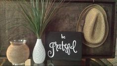 Small sign to add to your home decor! Made from repurposed wood.
