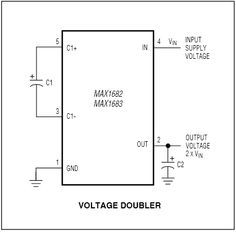 Double your voltage, double your fun! This circuit provides double the output voltage at around Very tiny package. Home Tech, Light Bulb Wattage, Works With Alexa, Circuits, Pump, Pump Shoes, Pumps, Slipper