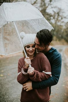 Looks For Short Hair : Rainy Day Anniversary Shoot Rainy Day Photography, Umbrella Photography, Dream Photography, Couple Photography, Couple Photoshoot Poses, Couple Shoot, Wedding Photoshoot, Rainy Engagement Photos, Engagement Pictures
