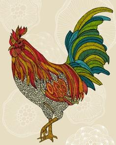 Valentina Ramos Print #Print #Design #Illustration #Textile
