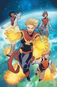 MIGHTY CAPTAIN MARVEL #8 SECapitán Marvel y su tripulación pueden haber encontrado finalmente una manera de derrotar a Chitauri ... pero va a tomar toda la fuerza que tienen - incluyendo a los nuevos reclutas. Cuando Alpha Flight pone su plan en acción, ¡un enemigo del pasado de Carol levanta la cabeza, amenazando con arruinarlo todo!