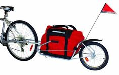 Product review for Maya Cycle Bike Trailer - Maya Cycle bike trailers are compact and easy-to-use for city streets, rides to the beach, camping getaways, cross-country touring, and any other type of bike trip you would like to experience with no hassle. Maya Cycle follows directly in-line with your bicycle wheels at all times and will NOT...