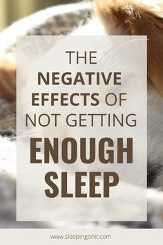 Being sleep deprived can do a lot of bad things to your health and wellbeing. #Health #WellBeing #Sleep #SleepBetter #SleepAdvice #HealthyLifestyle #ImproveHealth Natural Sleep Remedies, Sleep Deprivation, Health And Wellbeing, Insomnia, Healthy Habits, Healthy Lifestyle, It Hurts, The Cure