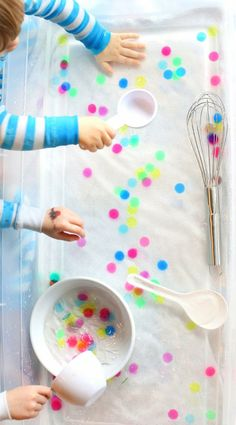 So many ways to play with Polka Dot Soup!