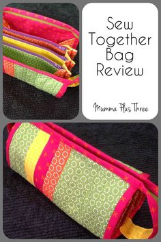Review of sewing my first Sew Together Bag   Mumma Plus Three