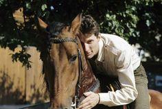 HUGUES AUFRAY, EN JUILLET 1964  chanteur Français- La galerie photo ParisMatch.com