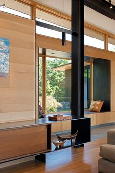 US studio Carlton Architecture has completed a lakeside house in North Carolina that features expansive window walls, and ample use of wood and pre-rusted steel (+ slideshow). Located in the . Wildwood Park, Steel Cladding, Modern Lake House, Weathering Steel, North Carolina Homes, Modern Style Homes, Commercial Architecture, Window Wall, Design Firms