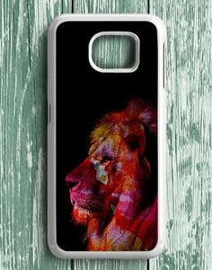 Lion Mix Colour Samsung Galaxy S7 Edge Case