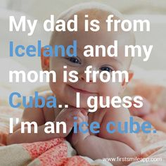 hahaha My Dad, Mom, Baby Humor, Funny Babies, Cuba, Dads, Fathers, Baby, Mothers