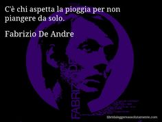 Cartolina con aforisma di Fabrizio De Andre (12)