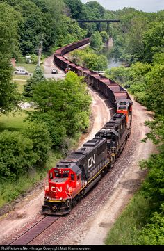 RailPictures.Net Photo: CN 5422 Canadian National Railway EMD SD70 at Conneaut, Ohio by Matt Hammerstein