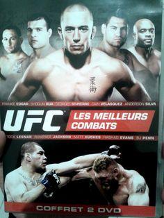 """Yeah ! J'ai recu mon DVD """"#UFC Les Meilleurs Combats"""" du concours @versustele  ! #MMA"""