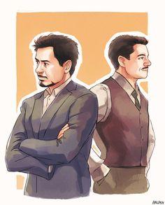 """""""Mr. Stark"""" by Hallpen"""