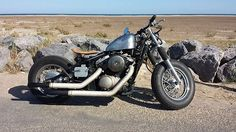1998Kawasaki vn800 classic byRamon Olivier | Bobber Inspiration - Bobbers and Custom Motorcycles October 2014