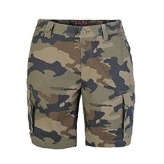 1e29534cb7 westAce Mens Army Cargo Combat Shorts Casual Work Cotton Chino Camo Half  Pant Review