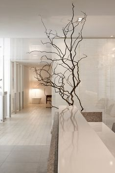 Pyeon-Gang Traditional korean medicine hospital, Republic of Korea Clinic Interior Design, White Interior Design, Interior Modern, Interior Architecture, Japan Interior, Cafe Interior, Spa Design, House Design, Chinese Interior