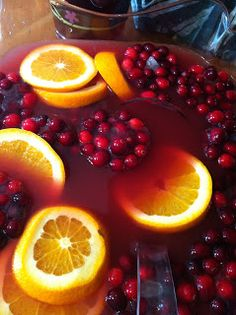 Cooking with Wine and Anarchy: Cranberry Sangria