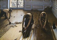 """The Floor Scrapers"", 1875 by Gustave Caillebotte."