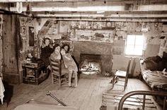 Appalachian family, North Carolina, 1936.