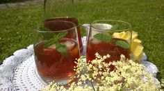 Elderflower infused Iced Tea