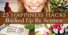 You can choose to be happier today by trying out these simple tricks like adding fresh flowers to your home, playing with your pet, and smelling oranges. http://articles.mercola.com/sites/articles/archive/2016/02/11/23-happiness-hacks.aspx